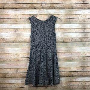 Vans • Animal Print Sleeveless Skater Dress Medium